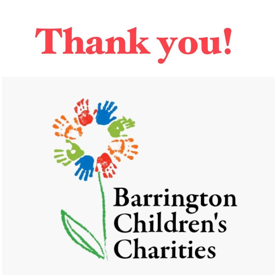 Barrington Children's Charities - Thank You