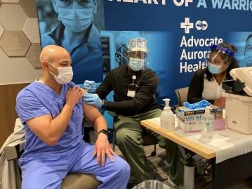 First COVID-19 Vaccines at Advocate Aurora Health