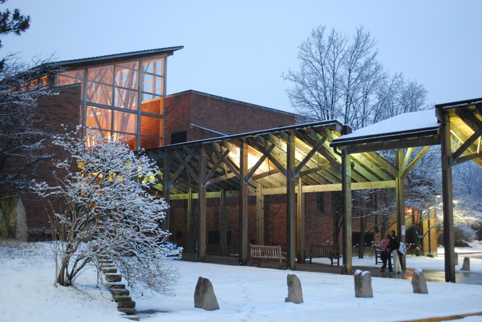 Barrington Area Library Winter