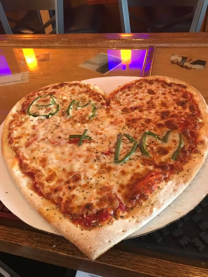 Remember Charlottes - Heart Shaped Pizza