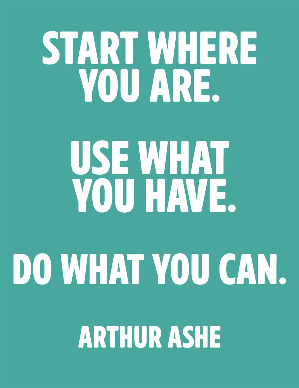 365 - Start Where You Are