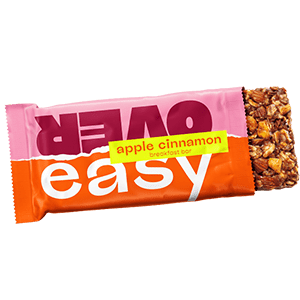 New at Heinen's - May, 2021 - Over Easy Apple Cinnamon Breakfast Bars