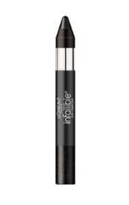 L'Oreal Infallible Eye Shadow Crayon Midnight Charcoal 704
