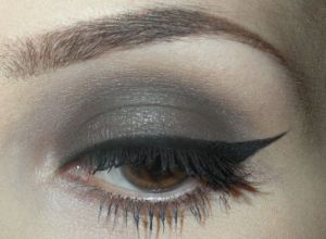 MAC Powder Eye Shadow Evening Look