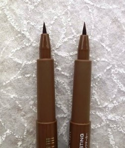 Milani Brow Tint Pen and NYX Eyebrow Marker