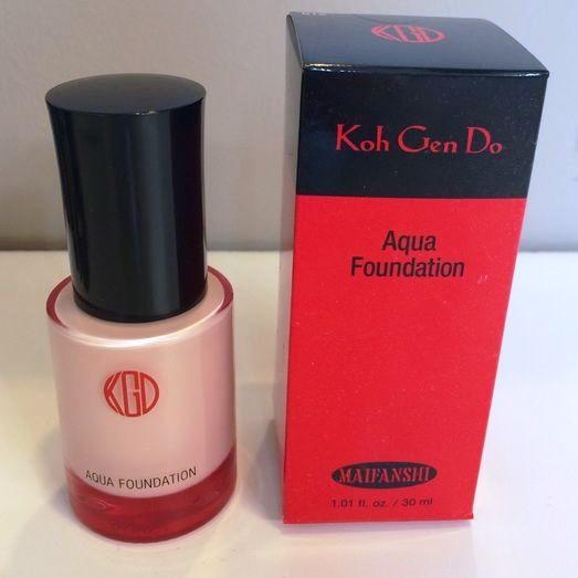 Koh Gen Do Maifanshi Aqua Foundation Bottle Box