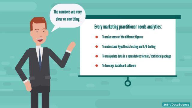 Every marketing practitioner needs analytics.
