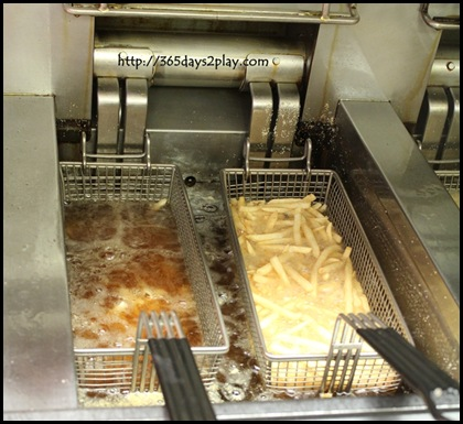 McDonald's - Fries being fried