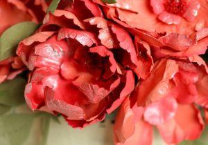 Embossed Paper Flowers