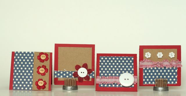 Patriotic mini Cards