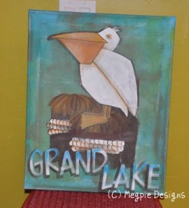 Grand Lake Painting by Megan Maravich