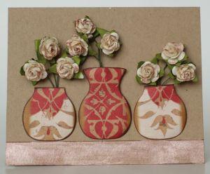 Floral Vase Card