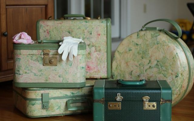 Mod Podge Suitcase -Kids Dress Up Storage