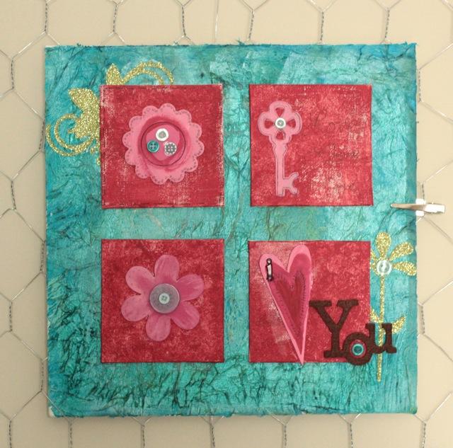 Tissue Paper Texture Canvas