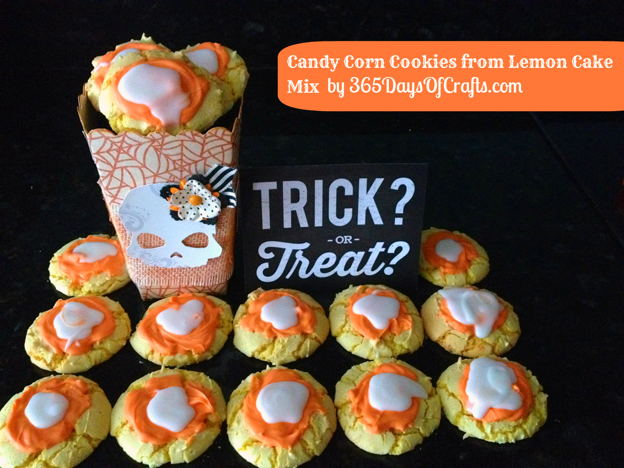 Candy Corn Cookies - Halloween Treat - 365 Days of Crafts ...