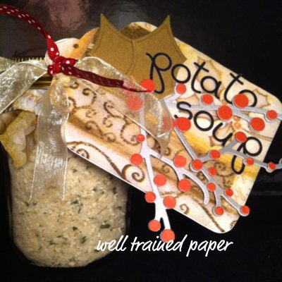 gifts in jars handmade gifts, gifts in a jar, potato soup, mason jar crafts, potato soup in a jar