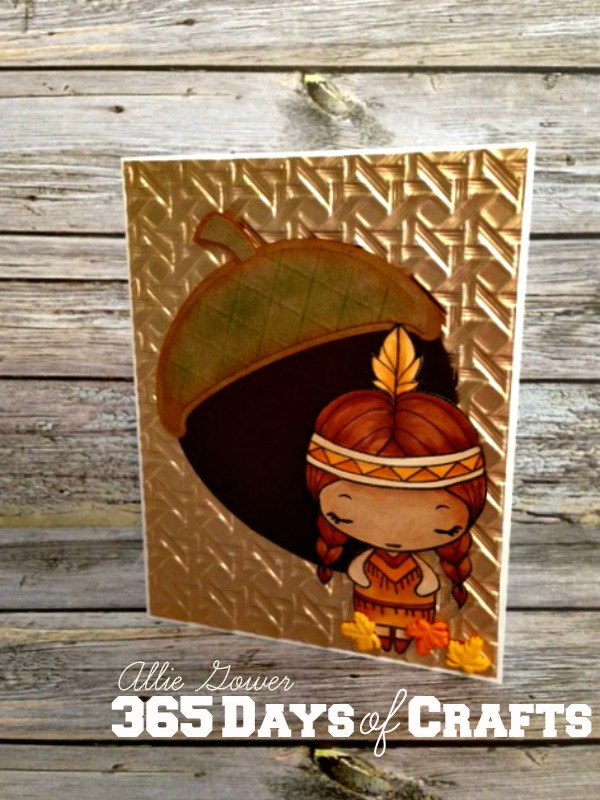 handmade fall card, spellbinders paper arts embossing, scoring board, card making inspiration