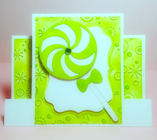 candy lollies, Christmas Cards
