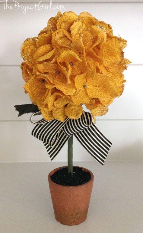 07 - Jenallyson - DIY Fall Hydrangea Topiary