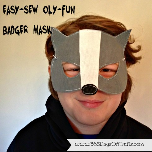Badger mask easy sew