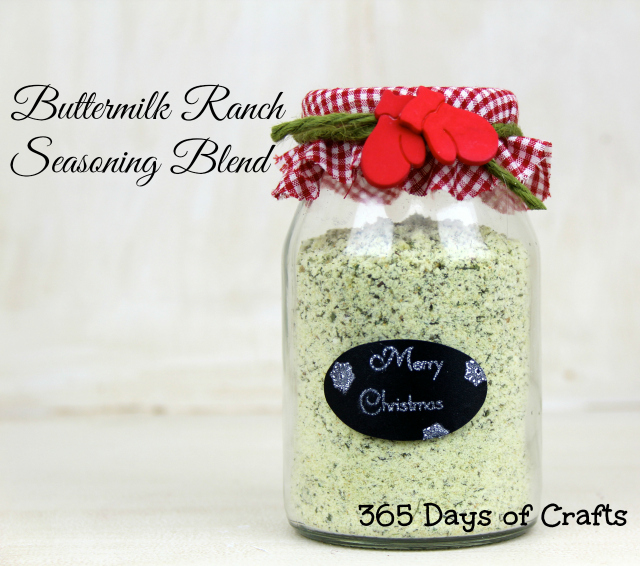 homemade ranch dressing mix. A creamy Buttermilk Ranch Seasoning
