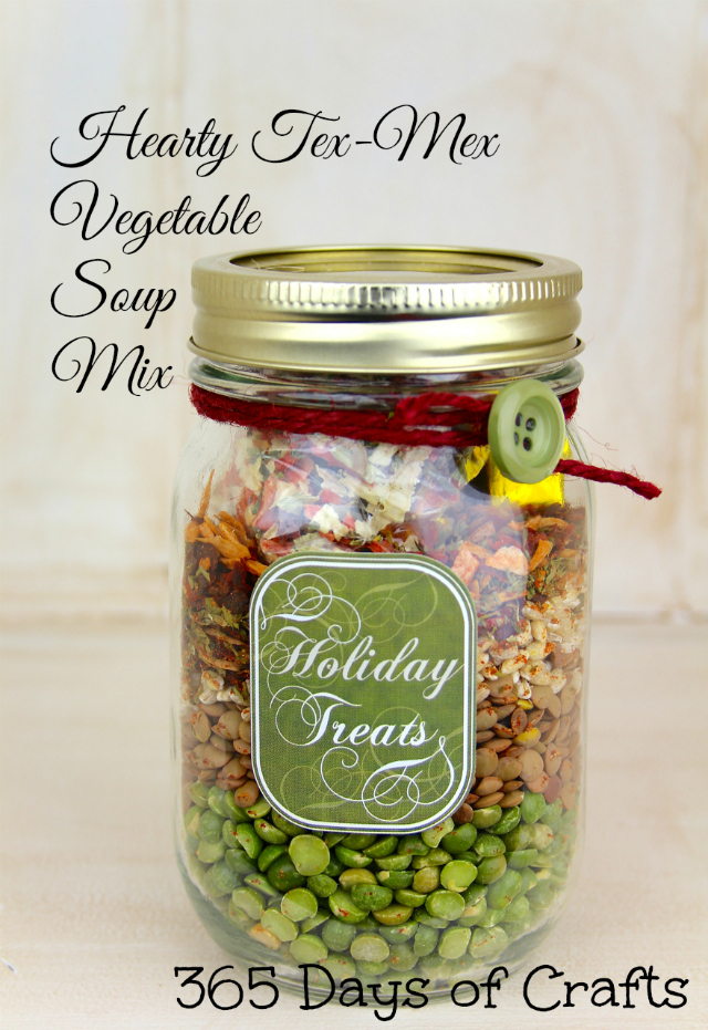 Tex Mex Vegetable soup mix