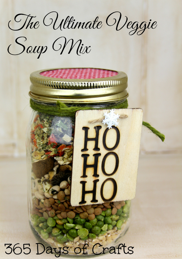 Ultimate Veggie Soup Mix In A Jar 365 Days Of Crafts