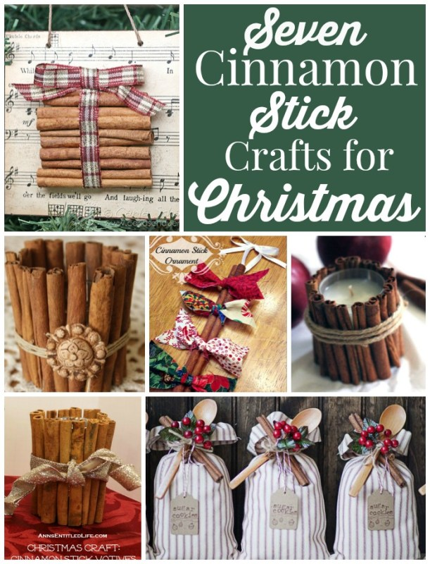 Seven Cinnamon Stick Crafts for Christmas