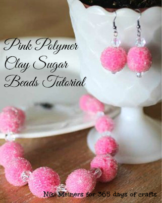 Polymer Clay Sugar Beads 365 Days Of Crafts