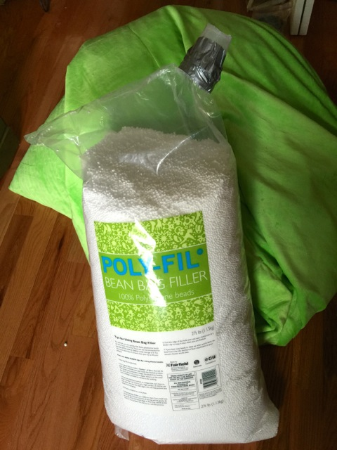 Poly-Fill bean bag chair filler