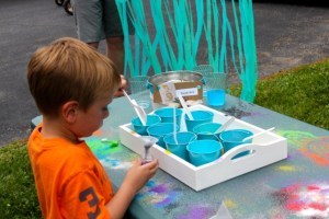 sand art summer activity