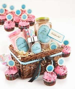 pink spa gift set