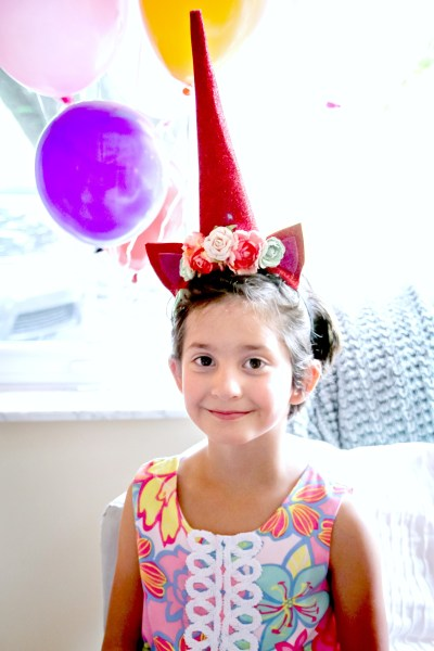 unicorn rainbow party little girl party ideas