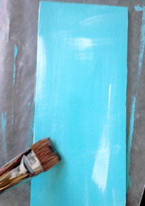 how to paint shabby chic