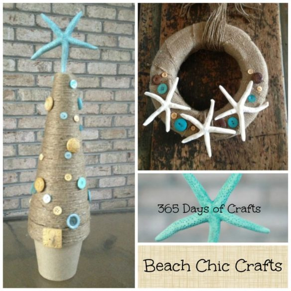 diy chic coastal christmas decor you can make on a budget cheap and easy crafts - Coastal Christmas Decor