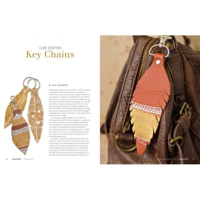 recycled leather craft in GreenCraft magazine