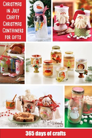 save money and make your own diy cute and crafty christmas containers for gifts the