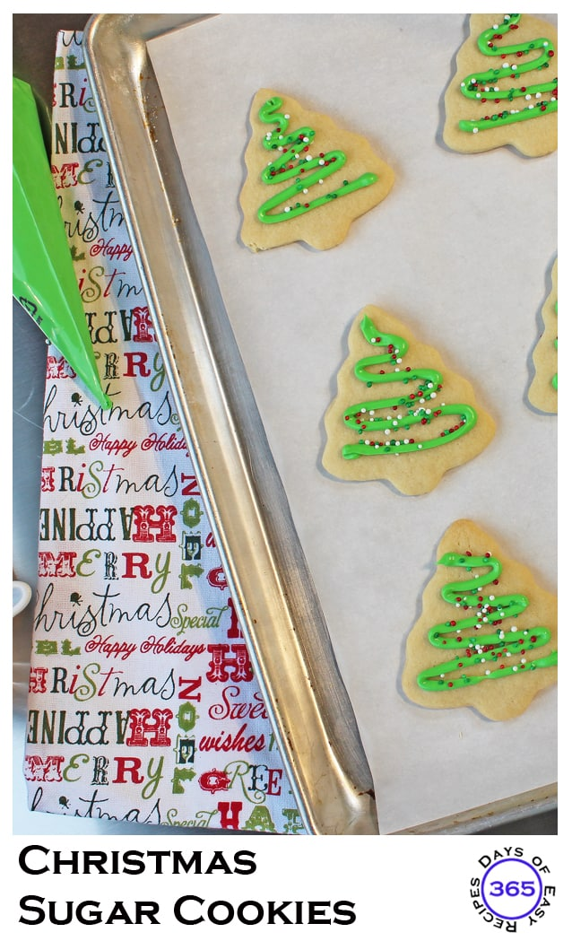 Holiday Sugar Cookies Pinterest 365 Days Of Easy Recipes
