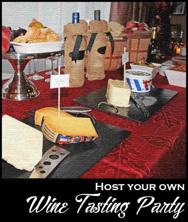 Host your own Wine Tasting Party in 4 Easy Steps | 365daysofeasyrecipes.com