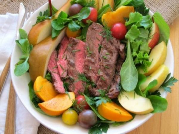 Flap Steak Salad Bowl