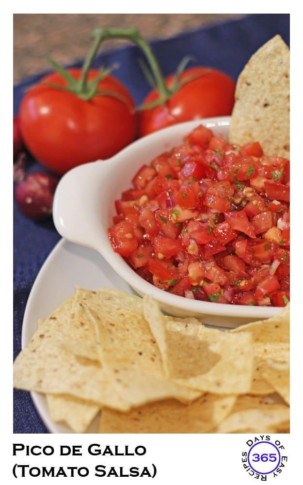 Pico de Gallo or Tomato Salsa Fresca