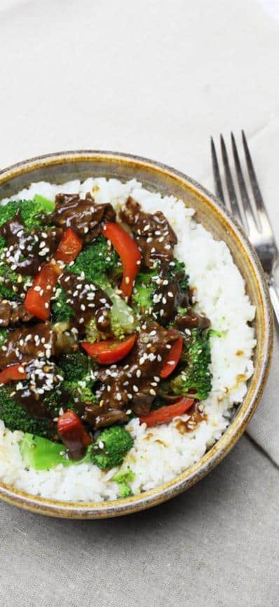 Beef, Broccoli & Peppers Stir Fry Recipe