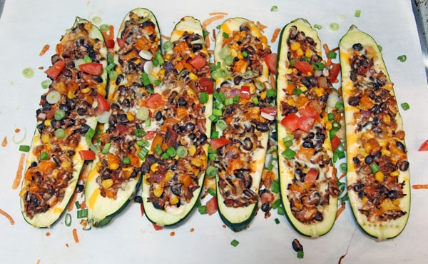Taco Zucchini Boats | 365 Days of Easy Recipes