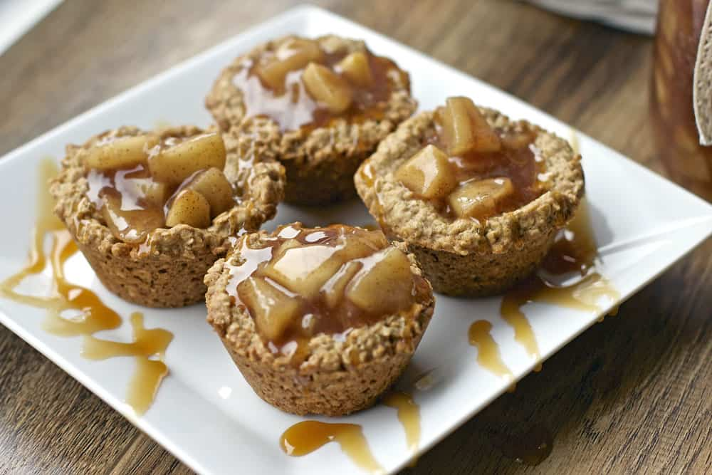 #118 - Apple Crisp Oatmeal Cookie Cups