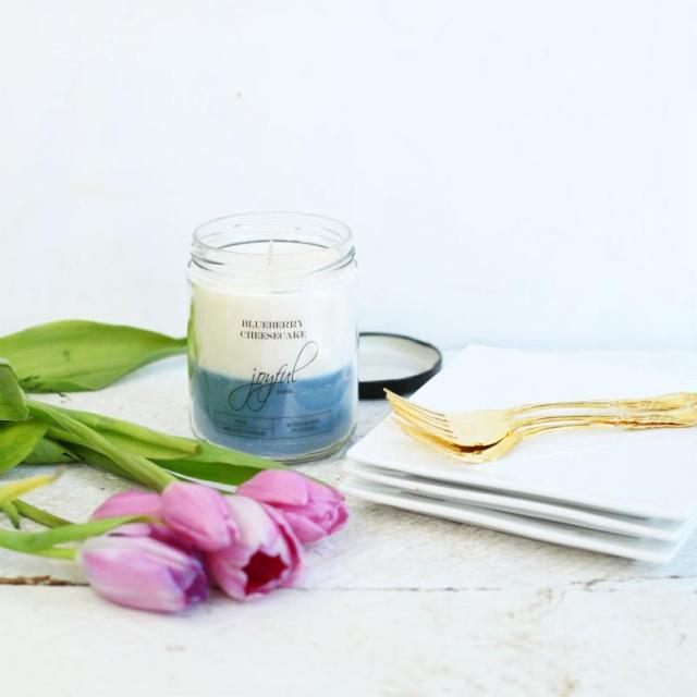 100% Soy Wax Candles from Joyful Home