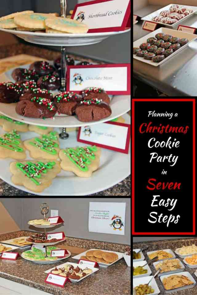 Plan a Christmas Cookie Party in 7 Easy Steps | 365 Days of Easy Recipes