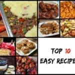 Top 10 Easy Recipes from 2016