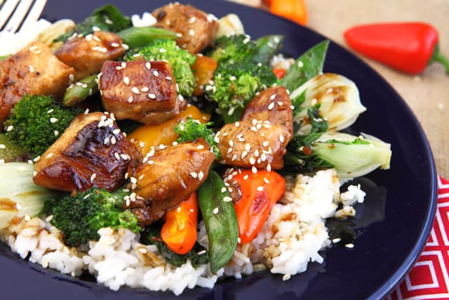 Honey Sesame Chicken Stir Fry | 365 Days of Easy Recipes