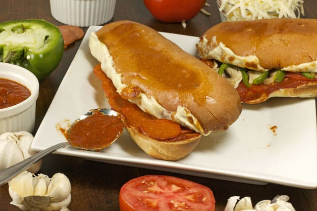 Fast & Easy Pizza Subs are perfect for dinner on those busy nights