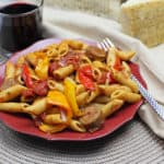 Sausage, Peppers & Onions Pasta